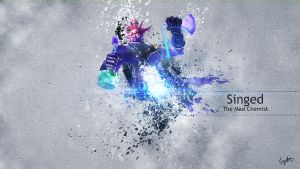 Singed Wallpaper by mex8