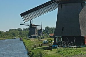 Windmills near Alkmaar_002 by BlokkStox