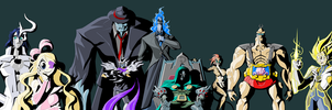 Fan Fiction Fuel - Legion of Doom by Tyrranux