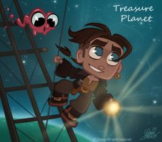 50ChibisDisney: TreasurePlanet by princekido