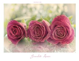 Jeweled Roses by Violet-Kleinert