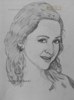 Quick Sketch - Hema Malini by shosansharma
