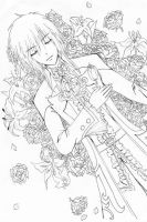 Innocent Requiem - Lineart by ivoryblood