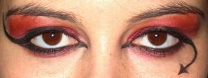 Eye Design - The Devil by oleanderchardonai