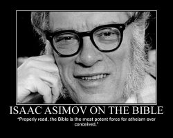 Isaac Asimov on The Bible by fiskefyren