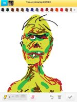 Draw Something: Zombie by AskGriff