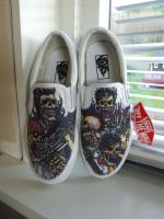Avenged Sevenfold custom vans by Jilue