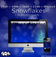 'Snowflakes' - wallpaperpack by 2tobi7