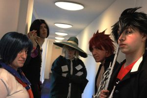 All stand together by gothgirlcosplay