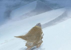Snowy Hills by Anvilous