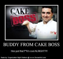 Cake Boss Poster by Organization-NW