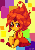 little flame by Seikoru