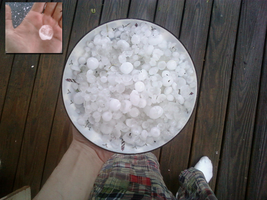 Bowl of Hailstones by Rasa13