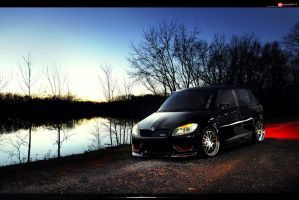 Skoda Fabia RS by hesoyam25