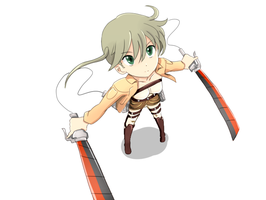 Attack on Titan Maka by ArttMadness