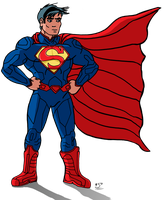 Fleischer Style New 52 Superman by Zipper-1