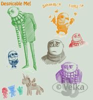 Despicable Me artdump by velka