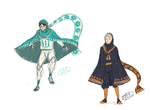 Haikyuu Journey AU by PetiteNe