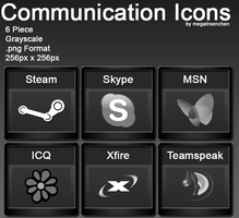 Communication Iconpack by Megatroenchen