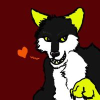 X wolf by Scarefish