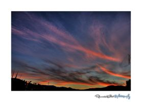 Sunset clouds by rifas