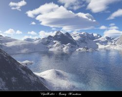 Snowy Mountains by ViperKid89