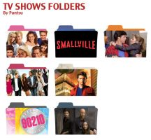Tv Shows Folders Pack Three by Cyrus-Pinkney
