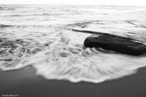 Point Lonsdale Beach BW by DanielleMiner