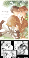 SnK: 30 Days Doujinshi Sample by YummySuika