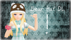 Bear Hat -DL- by LesnikovaP