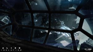 Alien Isolation concept art 01 by bradwright