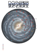 Mapa Galactico Mass Effect transparente by Engorn