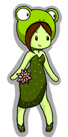 Lily Pad Princess Animated Adoptable by Queen-Of-Cute