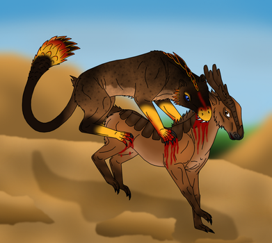 Shula the Killer (Sharpen your Claws) by Hevosten