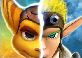 Ratchet and Jak by RatchetMario