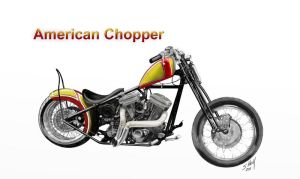 American Chopper by steverino365