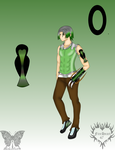 RWBY OC: Oliver Athen by idkskittles94