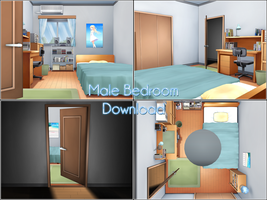 Male bedroom download by kaahgome