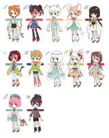 SET PRICE ADOPT BATCH [CLOSED] by mieille