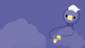 Drifloon Vector Wallpaper by AngieMyst