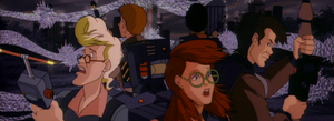 The Real Ghostbusters Verus the Unknown (Collage) by devilmanozzy