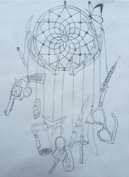 Life Is Strange Dream Catcher Before Color by liloved1