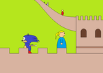 Sonic in China by roxan1930