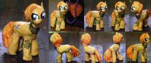 Shady Heartwriter Clay Figure (OC Pony) by nicolaykoriagin