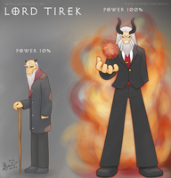 Weekly art#17 Lord Tirek by HowXu