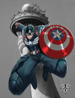 Captain America : Winter Soldier looks awesome! by battlereign