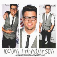 +Logan Henderson by CaroParalyzedEdition