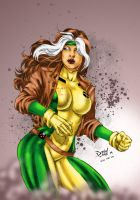 X-Men: Rogue by Clu-art