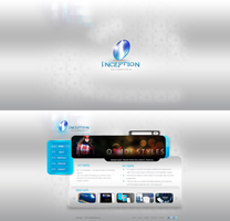Inception website by REDFLOOD