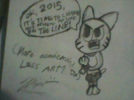 2015 for a Big Change by MigsGarcia5127